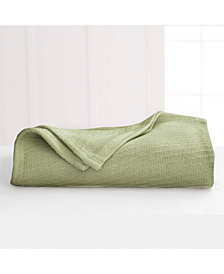 Martex Cotton Diagonal-Weave King Blanket