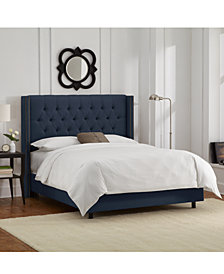 Martha Stewart Collection™ Bedford Collection Julian Bed, Quick Ship,  Created For Macyu0027s