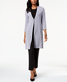 Kasper Collarless Topper Jacket