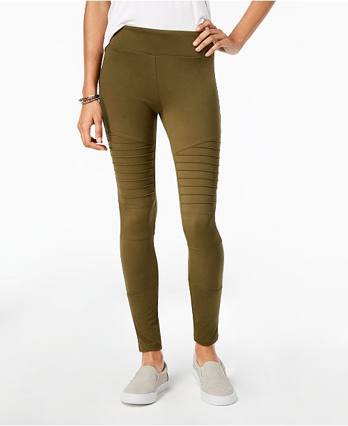 Hippie Rose Juniors' Moto Leggings