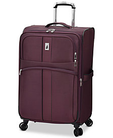 "London Fog Langley 25"" Expandable Spinner Suitcase"