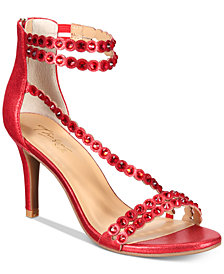 Thalia Sodi Darrla Strappy Evening Sandals, Created for Macy's