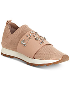 Nanette by Nanette Lepore Lourie Embellished Jogger Sneakers, Created for Macy's