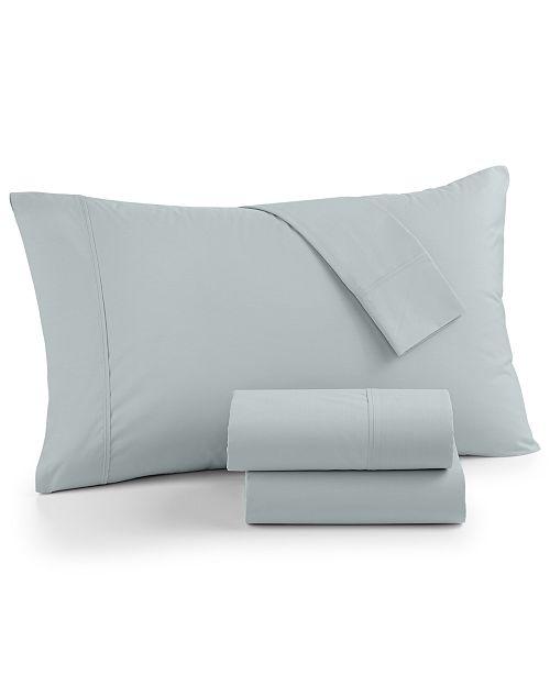 Sunham AirFeel Suvin Cotton 350 Thread Count 4-Pc. Queen Sheet Set
