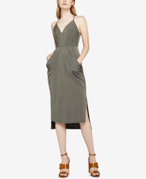 BCBGeneration Surplice Midi Dress 6596305