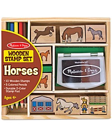 Kids Toys, Kids Horses Stamp Set Toys