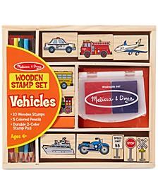 Kids Toys, Kids Car Blocks Stamp Set