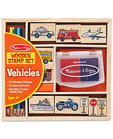Melissa and Doug Kids Toys, Kids Car Blocks Stamp Set