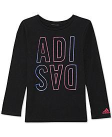 adidas Toddler Girls Win-Print T-Shirt