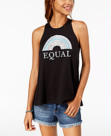 True Vintage Graphic Racerback Tank Top