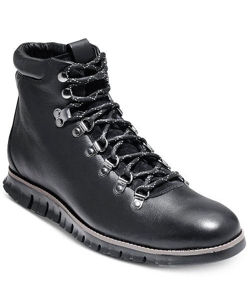 Cole Haan Men's Zero Grand Hiker Water-Resistant II Boots