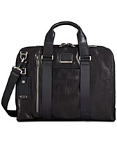 1ac1c55239f7 Tumi Men s Alpha Bravo Aviano Slim Leather Briefcase