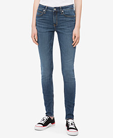 Calvin Klein Jeans Mid-Rise Super-Skinny Jeans