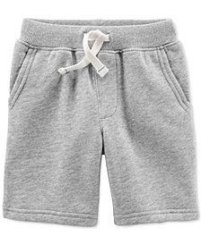 Carter's Toddler Boys' Basic Fleece Shorts