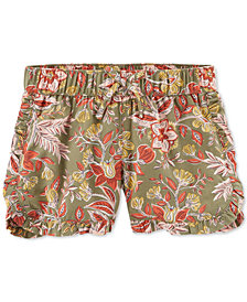 Carter's Little Girls' Multi-Floral Print Shorts