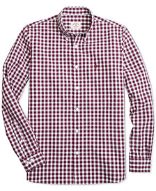 Brooks Brothers Men's Slim-Fit Gingham Shirt