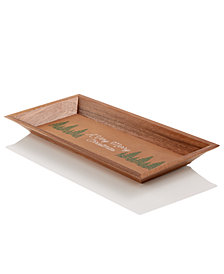 Martha Stewart Collection Wood Tray, Created for Macy's