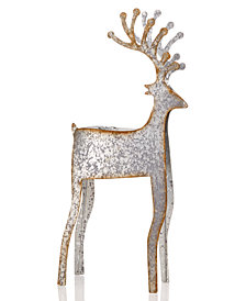 Martha Stewart Collection Large Deer Taper Holder, Created for Macy's