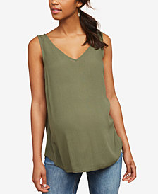 Motherhood Maternity V-Neck Tank Top