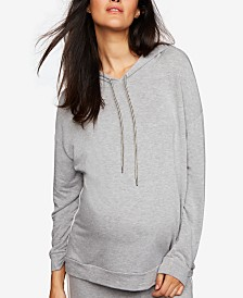 A Pea In The Pod Maternity Jersey Hoodie