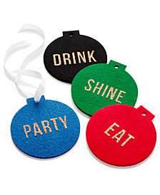 The Cellar Ornament Coasters, Set of 4, Created for Macy's