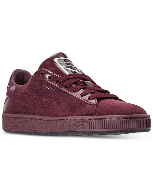 newest 76f88 21783 Puma Women's Suede Classic x Mac Three Casual Sneakers from ...