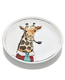 The Cellar Giraffe Salad Plate, Created for Macy's