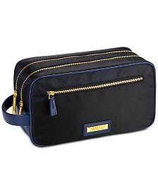 Receive a FREE Toiletry Pouch with any large spray purchase from the Versace Men's fragrance collection
