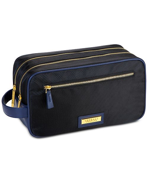 Versace Receive a FREE Toiletry Pouch with any large spray purchase from the Versace Men's fragrance collection