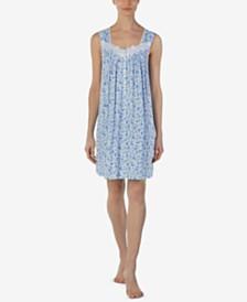 Eileen West Printed Short Nightgown