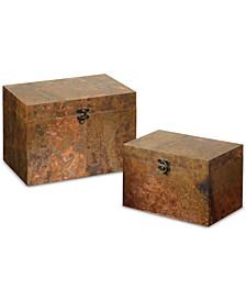 Ambrosia Copper Boxes, Set of 2