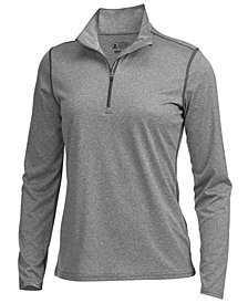EMS® Women's Techwick® Essence Performance 1/4-Zip T-Shirt