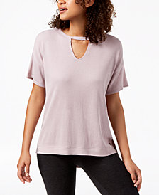 Calvin Klein Performance Keyhole Top