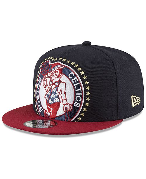 huge discount cfd1e 6ad3b ... New Era Boston Celtics XL AMERICANA 9FIFTY Snapback Cap ...