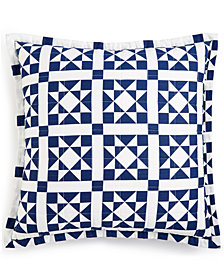 "CLOSEOUT! Calvin Klein Abigail 22"" X 22"" Decorative Pillow, New & First at Macy's"