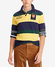 Polo Ralph Lauren Men's Big & Tall Striped Cotton Classic Fit Polo