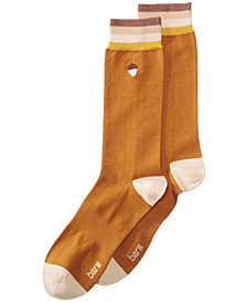 Bar III Men's Embroidered Socks, Created for Macy's