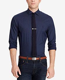 Polo Ralph Lauren Men's Slim Fit Cotton Paisley Dot Shirt