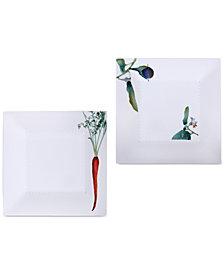 Noritake Kyoka Shunsai 2-Pc. Square Plate Set