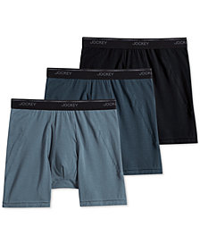 Jockey Men's 3-Pk. MaxStretch Midway Briefs