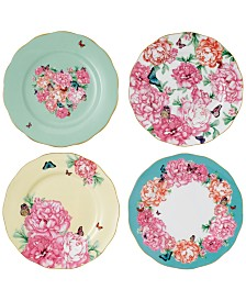 Miranda Kerr for Royal Albert Mixed Pattern 4-Pc. Accent Plate Set