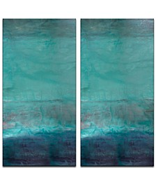 'Abstract Spa' Oversized 2-Pc. Canvas Art Print Set