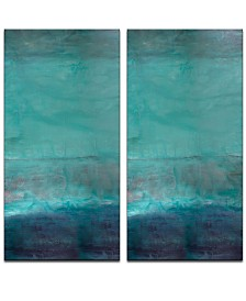 Ready2HangArt 'Abstract Spa' Oversized 2-Pc. Canvas Art Print Set
