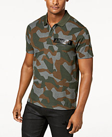 A|X Armani Exchange Men's Camo-Print Polo