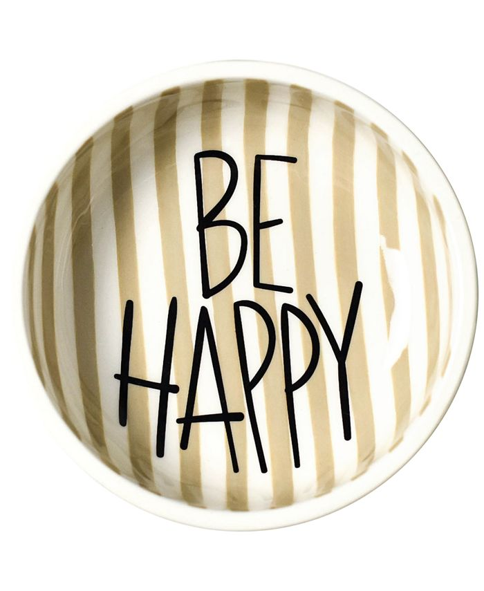 Coton Colors - Happy Everything!™ Collection Mint Dot Be Happy Dipping Bowl