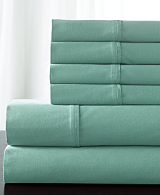 Solid 800 Thread Count 6-Pc. Queen Sheet Set