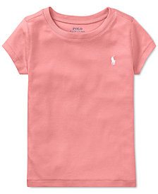 Polo Ralph Lauren Toddler Girls Crew-Neck T-Shirt