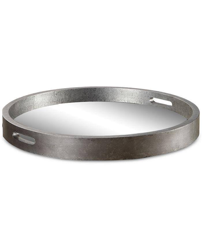Uttermost - Bechet Round Silver Tray