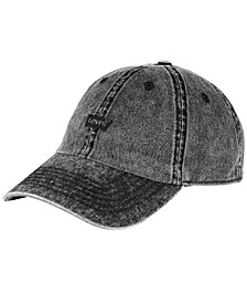 Men's Twill Enzyme Washed Baseball Cap