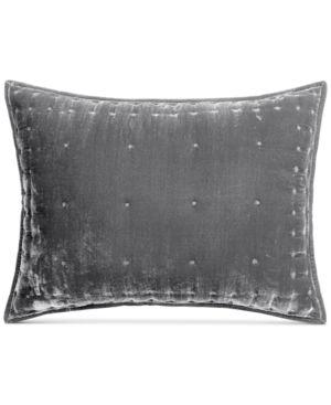Martha Stewart Collection Tufted Velvet King Sham, Created for Macy's 6637776
